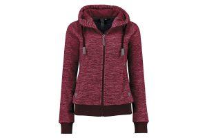 Kjelvik Trinet knitwear vest - Burgundy