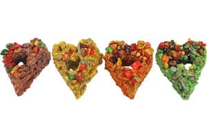 Het Knaagdierenhartje is een gezonde snack voor uw knaagdier.