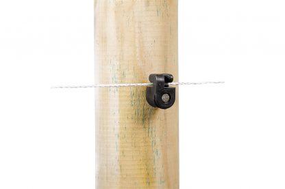 Nagel isolator met sleuf