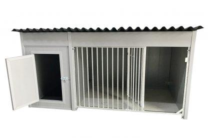 Kunststof hondenkennel laag model 220