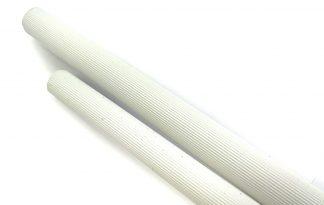 Geribbelde kunststof zitstokken zijn zitstokken met groeven die zorgen voor meer grip en om doorzitplekken op de poten van je vogels te helpen voorkomen.