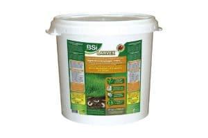 Larvex zorgt voor optimale gezondheid en weerstand van uw gazon tegen insectenplagen.