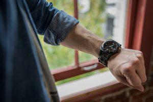 Leatherman Tread Tempo Black multitool horloge