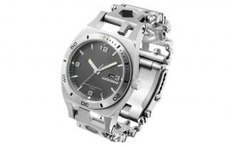 Leatherman Tread Tempo multitool horloge
