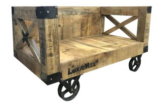 Lex & Max Divan Industrial hondenbank