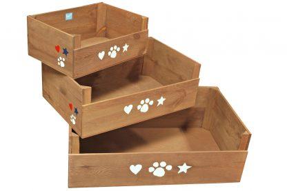 Lief! Lifestyle houten mand Unisex
