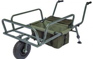 De Lion Sports Treasure MK 2 Barrow is de ideale kruiwagen voor het verslepen van al je visspullen. Deze kruiwagen heeft een mee geleverde tas die te monteren is aan de onderkant, hierdoor kun je nog meer materialen kwijt.