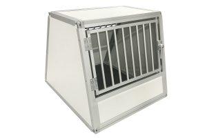 Maatwerk hondenvervoersbox trespa