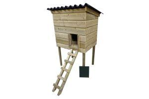 Maatwerk kippenbroedkooi & -nachthok multifunctioneel 02