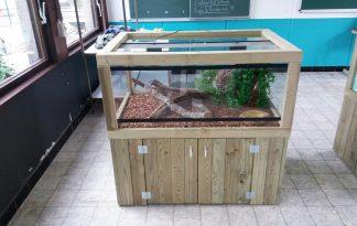 Maatwerk terrarium Nature schoolverblijven