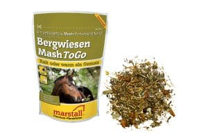 Marstall Graanvrij Bergwiesen-Mash To Go portieverpakking