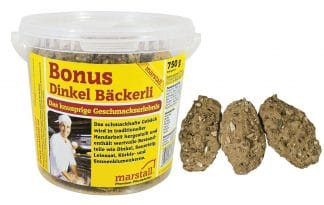 Marstall Plus Dinkel Bäckerli zuurdesem dinkelspelt