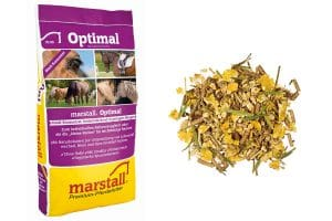 e Marstall Plus Optimal is een structuur muesli
