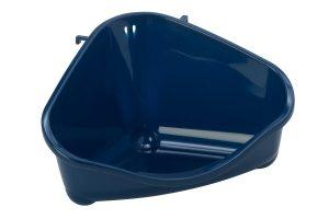 Moderna knaagdiertoilet met haak blauw