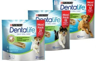 Purina Dentalife kauwstaaf kipsmaak tandverzorging honden large multipack maxipack