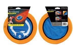 Nite Ize NiteDawg LED Soft Disc frisbee
