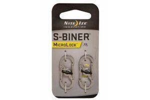 Nite Ize MicroLock S-Biner RVS