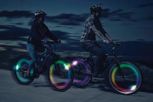 Nite Ize SpokeLit Disco LED spaaklamp