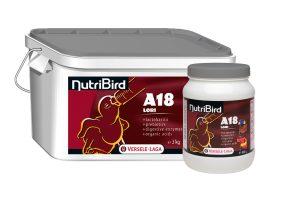 Nutribird A18 handopfok lori's