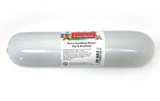 Nuvo Premium houdbare vleesworst Kip & Knoflook