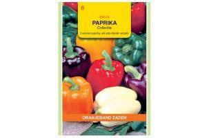 Oranjeband Zaden paprika collectie