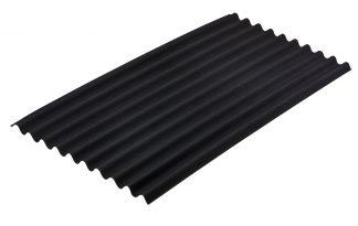 Onduline bitumen golfplaten zwart