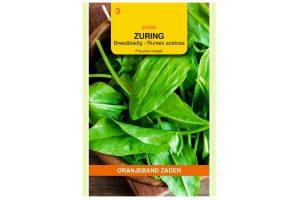 Oranjeband Zaden breedbladige zuring (Rumex acetosa)
