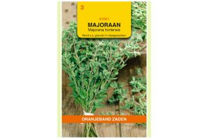 Oranjeband Zaden majoraan (Majorana hortensis)