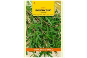 Oranjeband Zaden eenjarig bonenkruid(Satureja hortensis)