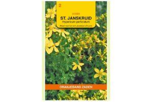 Oranjeband Zaden St. Janskruid (Hypericum perforatum)