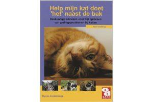 Over Dieren boekenreeks - Help, mijn kat doet het naast de bak! voorkant