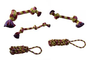 Papillion hondenspeelgoed Rope Toy