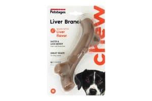 De Petstages Liver Branch is een kauwbot voor uw hond voorzien van een heerlijke leversmaak.