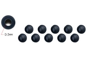 Piet Vogels Tungsten Beads voor Heli-chod