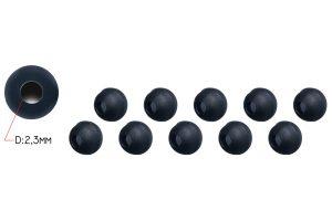 Piet Vogels Tungsten Beads voor shokka sleeves