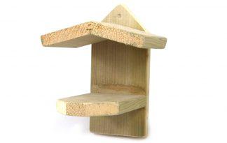 Pindakaashuisje met geïmpregneerde achterkant
