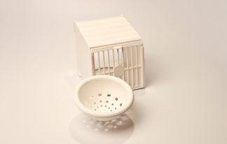 Fauna plastic nestkastje voor aan de kweekkooi