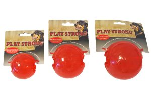 Play Strong rubber bal