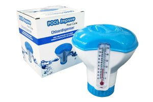 Pool Improve Pool Care chloordispenser met thermometer