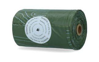 De PoopyGo Eco Friendly poepzakjes zijn biologisch afbreekbaar, waardoor u bijdraagt aan een groenere en schonere wereld!