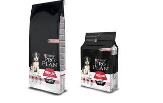 Pro Plan Puppy Medium Sensitive Skin met Optiderma