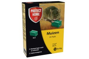 Protect Home Frap Block muizen in huis 6x 15 gram