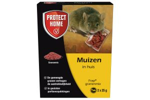 Protect Home Frap granenmix muizengif 2x 25 gram
