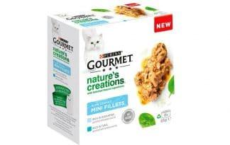 De Gourmet Nature Creations Multipack Zeevis is een heerlijk filet voor uw kat