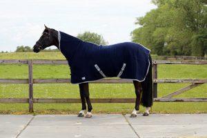 QHP deken wol met singels en hals
