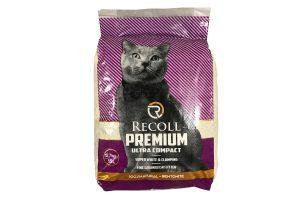 Recoll Premium Ultra Compact fijne kattenbakvulling