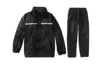 Regenpak basic zwart