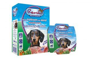 Renske Kalkoen en Eend complete vers vlees voeding