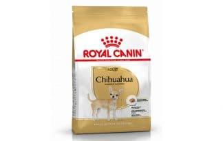 Royal Canin Adult Chihuahua is een rasspecifieke voeding voor volwassen Chihuahua's vanaf 8 maanden.