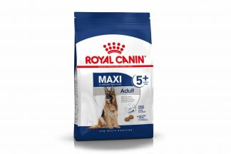 Royal Canin Maxi Adult 5+ helpt de oudere hond vitaal te blijven vanaf 5 jaar.